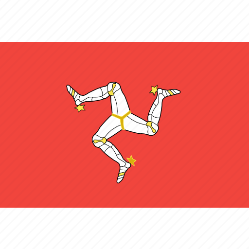 country, flag, isle, mann, nation, of, world icon