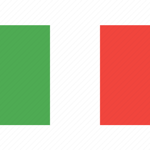 country, flag, italy, nation, world icon