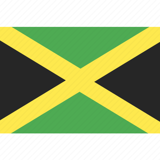 country, flag, jamaica, nation, world icon
