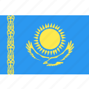 country, flag, kazakhstan, nation, world icon