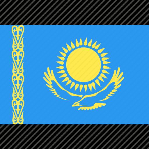 country, flag, kazakhstan, nation, world icon