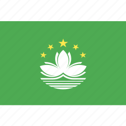 country, flag, macau, nation, world icon