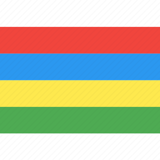 country, flag, mauritius, nation, world icon
