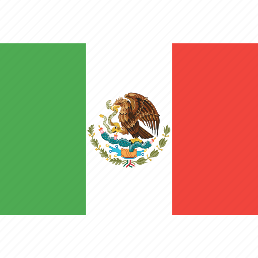 country, flag, mexico, nation, world icon