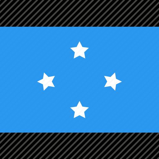country, flag, micronesia, nation, world icon