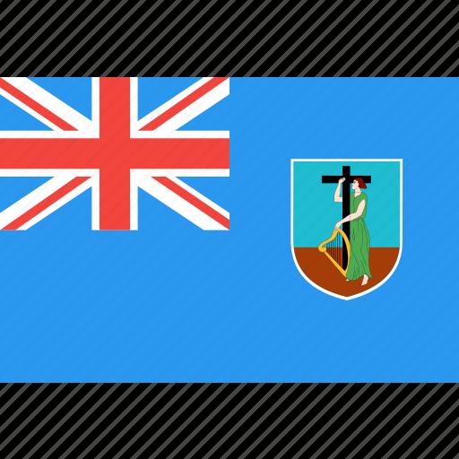 country, flag, montserrat, nation, world icon