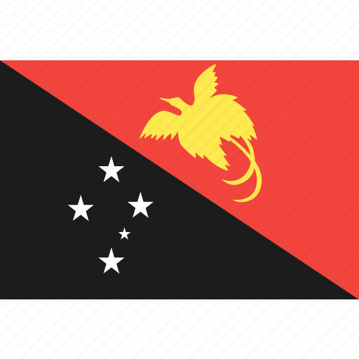 country, flag, guinea, nation, new, papua, world icon