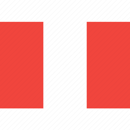country, flag, nation, peru, world icon