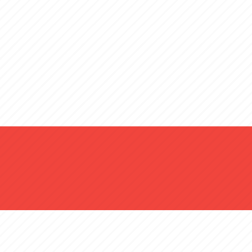 country, flag, nation, poland, world icon