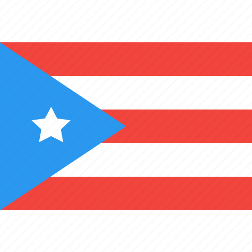 country, flag, nation, puerto, rico, world icon