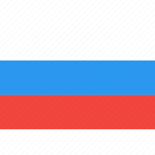 country, flag, nation, russia, world icon