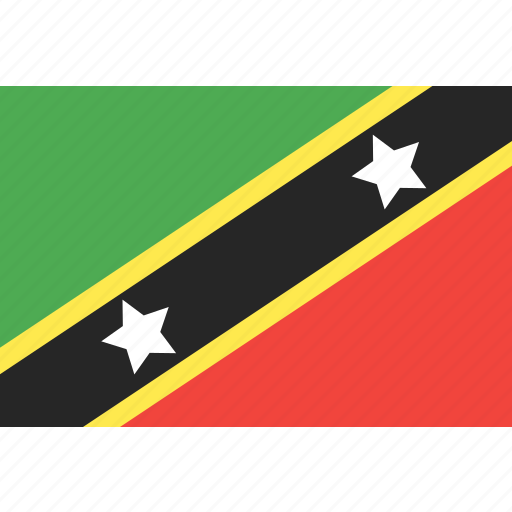 country, flag, kitts, nation, nevis, saint, world icon