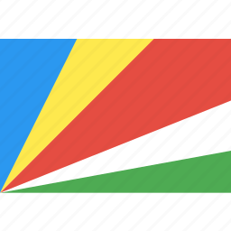 country, flag, nation, seychelles, world icon