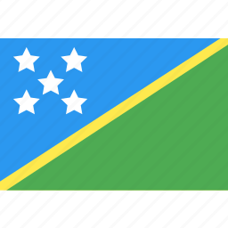 country, flag, islands, nation, solomon, world icon