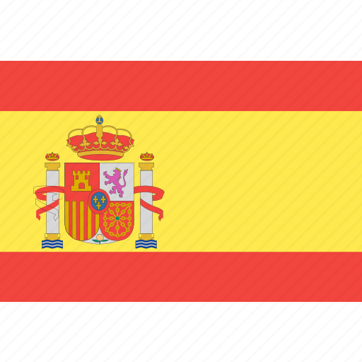 country, flag, nation, spain, world icon