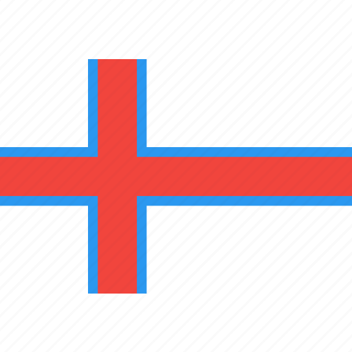 country, faroe, flag, islands, nation, the, world icon