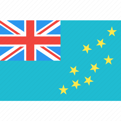 country, flag, nation, tuvalu, world icon