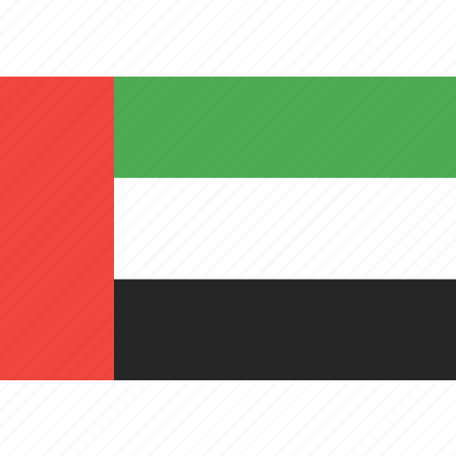 arab, country, emirates, flag, uae, united, world icon