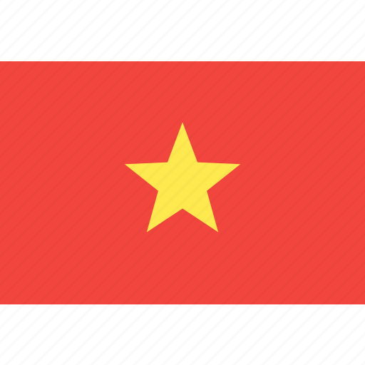 country, flag, nation, vietnam, world icon