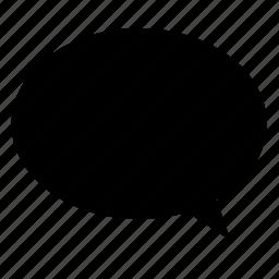 bubble, chat, comment, communication, conversation, speech icon