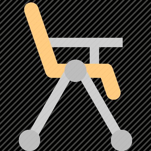 baby chair, baby furniture, chair, feeding chair, high chair icon