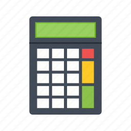 accounting, calculator, chart, financial, mathematics, maths, numbers icon