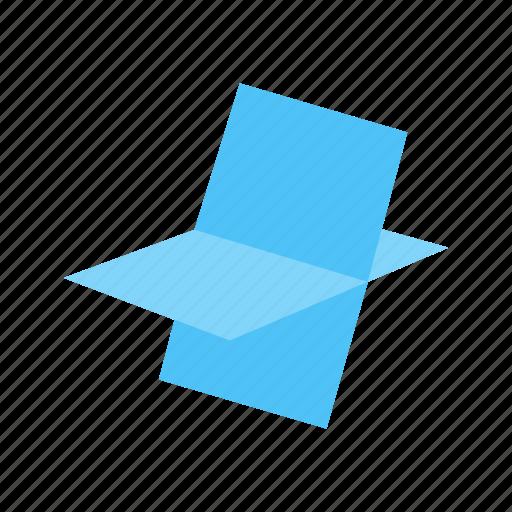drawn, figure, geometric, octahedron, polygonal, shape, stereometry icon