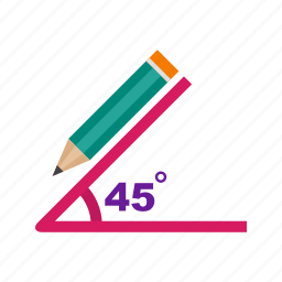 angle, compass, drawing, formula, geometry, graph, mathematical icon