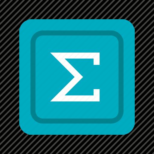 add, math, mathematics, plus, sign, statistics, summation icon