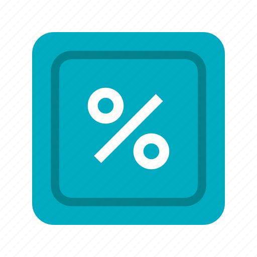 discount, education, maths, percent, percentage, rate, sign icon