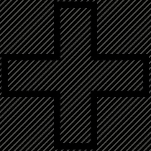 add, add sign, addition, basic math sign, math, plus icon