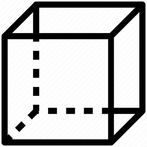 box, cube, draw, drawing, geometric shape, geometry, shape icon