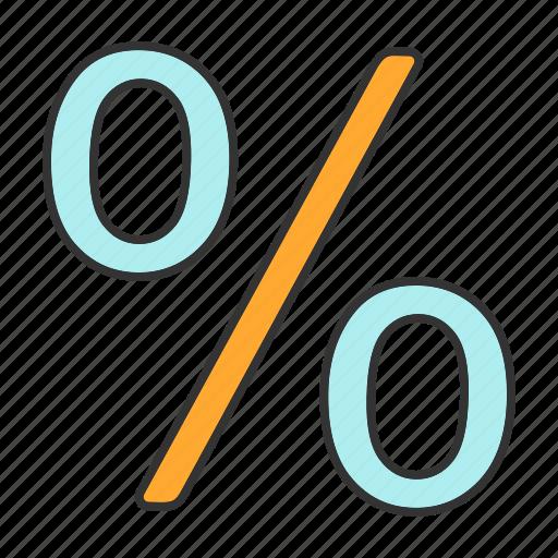 discount, math, mathematics, off, percent, percentage, sale icon