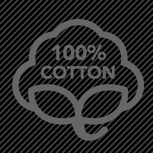 %, cotton icon