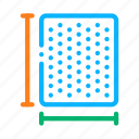 depth, length, mattress, size, width icon