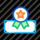 award, guarantee, mattress, medal, star