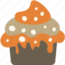 cupcake, dessert, food, meal icon