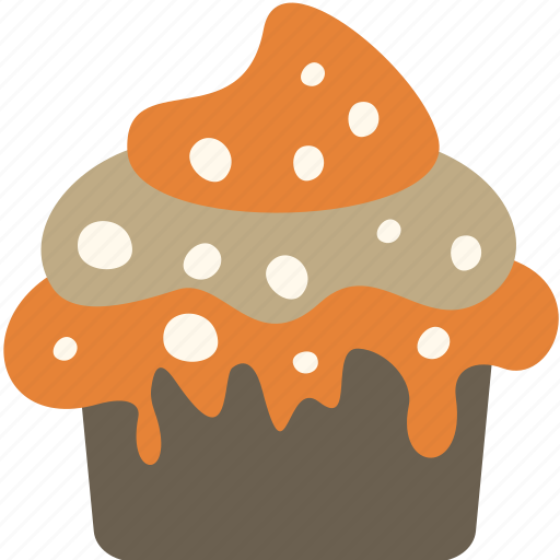 cupcake, dessert, food, meal icon