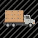 travel, delivery, truck, transport, transportation