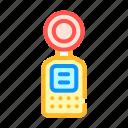 equipment, light, measuring, meter, temperature, weight icon