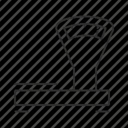 analog scale, masuring, scale, tool icon