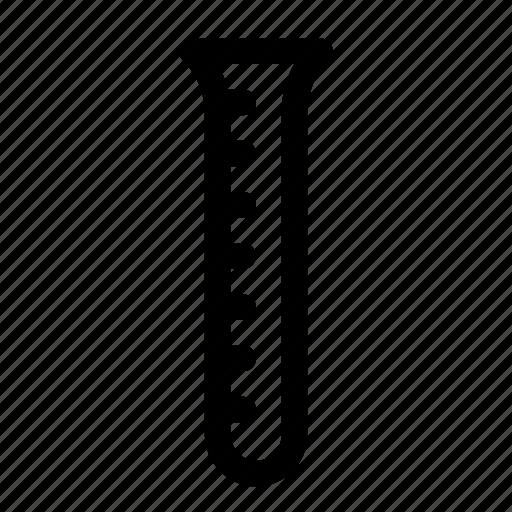 chemistry, liquid, measure, test, test tube, tube icon