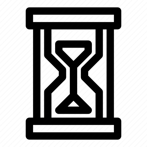 clock, hour, hourglass, measure, minutes, sand, time icon