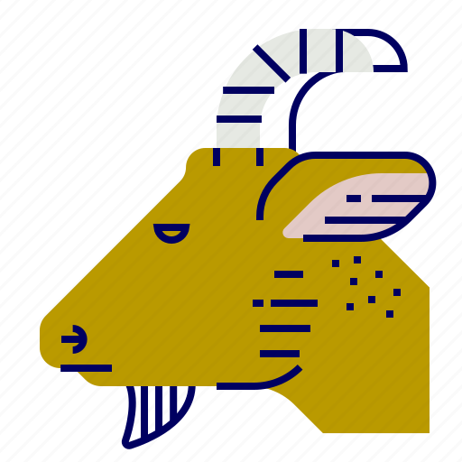 cooking, food, gastronomy, goat icon