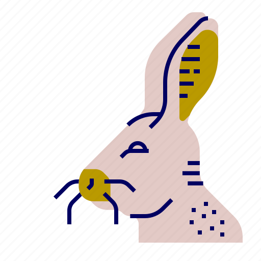cooking, food, gastronomy, hare icon