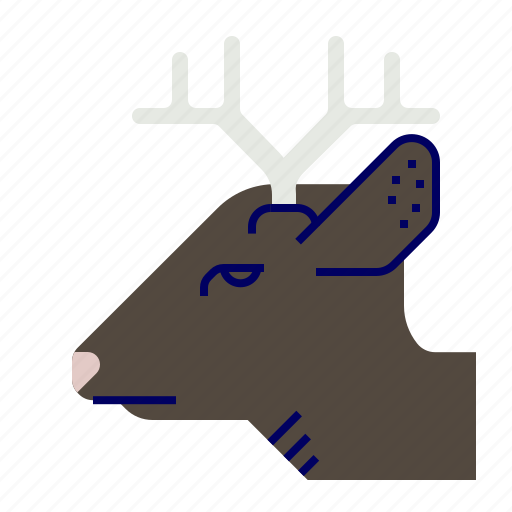 cooking, deer, food, gastronomy, roe icon