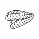 fish, fish fillet, fish meat, food, meat, meat cuts, sliced fish icon