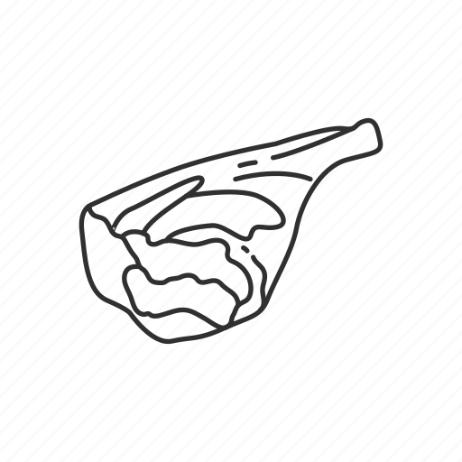 animal, food, lamb, lamb meat, lamb shank, meat, meat cut icon