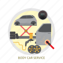body, body car service, car, service icon
