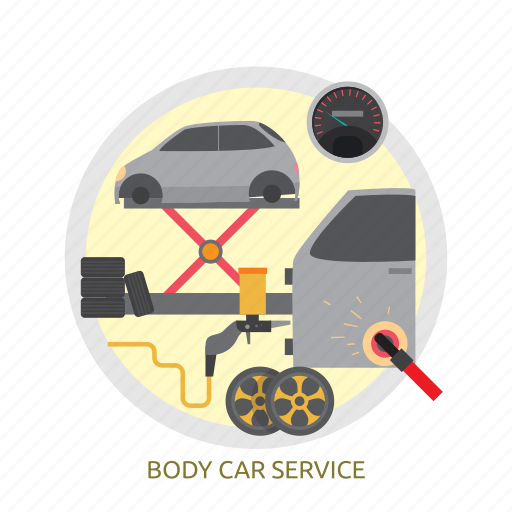 body, body car service, car, service icon